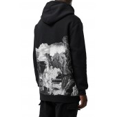 Dreamscape Print Hooded Sweatshirt