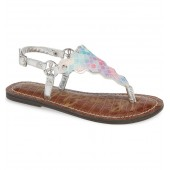 Greta Scallop Sparkle Sandal