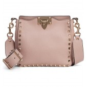 Rockstud Mini Hobo Crossbody Bag