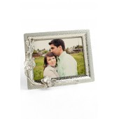 'White Orchid' Photo Frame