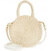 Petite Alice Straw Bag
