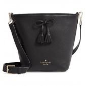 hayes street - vanessa leather shoulder bag