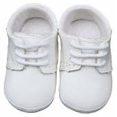 Leather Crib Shoe