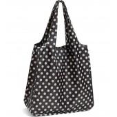 'polka dot' reusable shopping tote