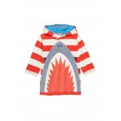 Mini Boden Towelling Hooded Cover-Up