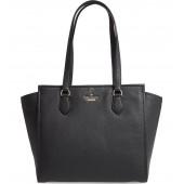 jackson street - hayden leather satchel