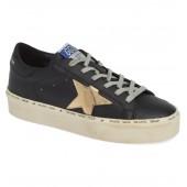 Metallic Star Low-Top Sneaker