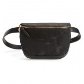 Perforated Leather Fanny Pack