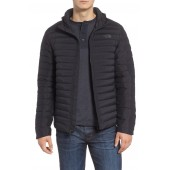 Packable Stretch Down Hooded Jacket