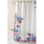 Paule Marrot Rose Vine Shower Curtain