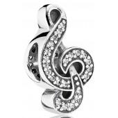 Sweet Music Treble Clef Charm