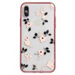 jeweled camellia iPhone X/Xs case