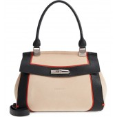 Madeleine Colorblock Leather Satchel