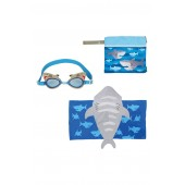 Bag, Hooded Towel & Goggles