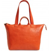 Le Zip Leather Tote