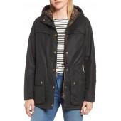 x Liberty Blaise Hooded Waxed Jacket