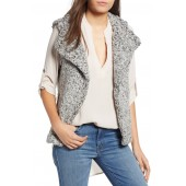Frosty Faux Shearling Vest