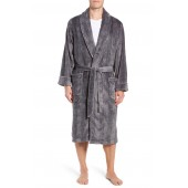 Glen Check Fleece Robe