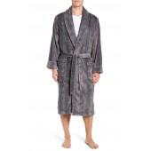 Glen Check Fleece Robe