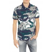 Mountain Slim Fit Short Sleeve Polo