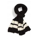 Sport Stripe Wool Scarf