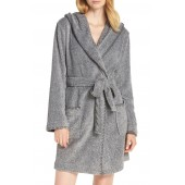 Starry Night Plush Short Robe