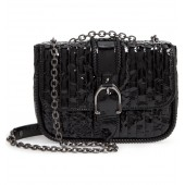 Amazone Vernis Leather Crossbody Bag