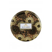 Japonica Baltic Amber Three-Wick Decorative Tin Candle