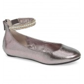 'Jziler' Sequined Round Toe Ballet Flat