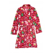 Holiday Fleece Robe