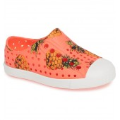 Jefferson Pineapple Print Water Friendly Vegan Sneaker