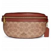 Signature Canvas Belt Bag