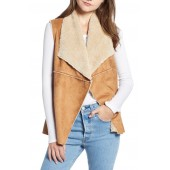 Madison Faux Shearling Vest
