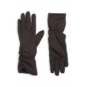 Side Ruched Stretch Touchscreen Compatible Gloves
