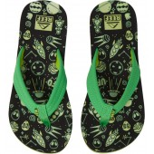 Ahi Glow in the Dark Flip Flop