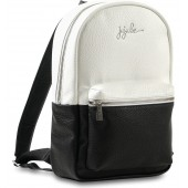 Ever Collection Mini Faux Leather Diaper Backpack