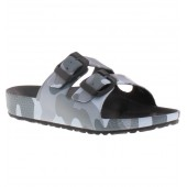 Aqua Camo Slide Sandal
