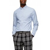 Skinny Fit Button-Down Oxford Shirt