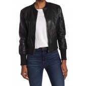 Kyra Faux Leather Jacket