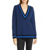 Theon V-Neck Merino Wool Sweater
