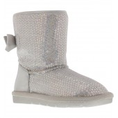 Brenna Bianca Iridescent Shimmer Sequin Boot