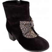 Crystal Bow Boot