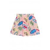 Stella McCartney Palm Leaf Print Skirt