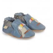 Toucan Tom Moccasin Crib Shoe