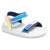 Charley Holographic Strappy Sandal