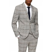 Check Skinny Fit Suit Blazer
