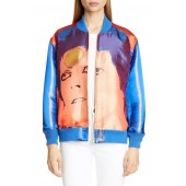 Bowie Face Bomber Jacket