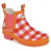 Original Gingham Chelsea Waterproof Rain Boot