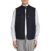 Slim Fit Quilted Vest