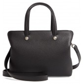 Le Foulonne Zip Around Leather Tote